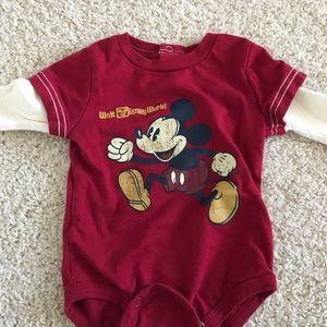 Walt Disney World Long Sleeve Body Suit for Baby